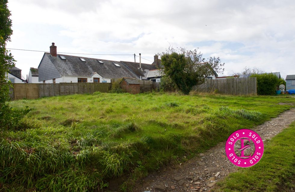 St Minver £215,000 Freehold Plot with Planning Permission SOLD
